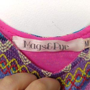 LF Dresses - LF Mags & Pye   Embroidered Cut Off Dress Mini